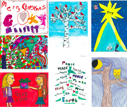 SheLoves: Christmas Card Project for Famine Relief in East Africa ...