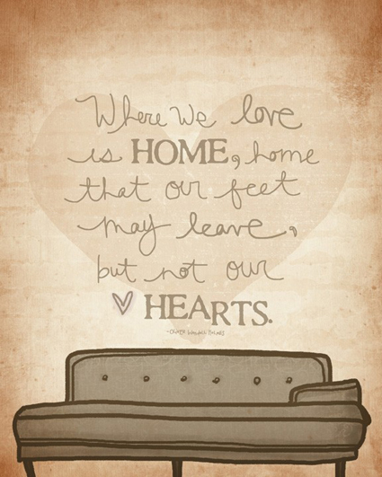 Home Is Where The Heart Is Quote: Home Is Where The Heart Is And A Little Boy Belongs