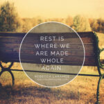Rest as Transformation