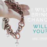 I Will Bring Change. Will You? PLUS: A Giveaway