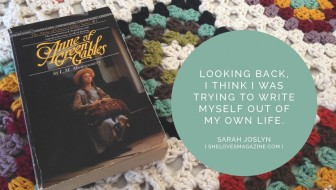 On Anne Shirley and Writing My Way into Healing