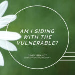Am I Siding with the Vulnerable?