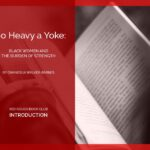 The Red Couch: Too Heavy A Yoke INTRODUCTION