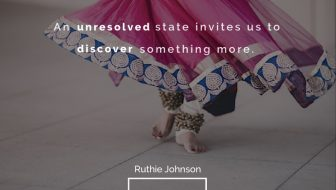 Let's Dance Boldly in the Unresolved
