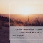 From Bone and Dust, I am Beloved