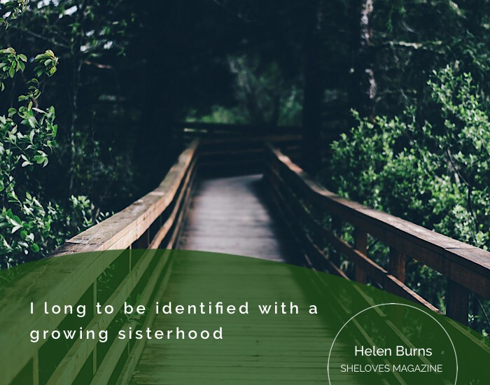 Helen Burns -Sisters Stand Together4