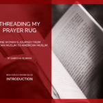 The Red Couch: Threading My Prayer Rug Introduction