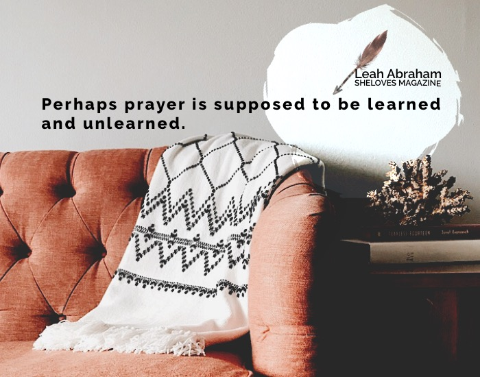 leah abraham -teaching a pessimist to pray3