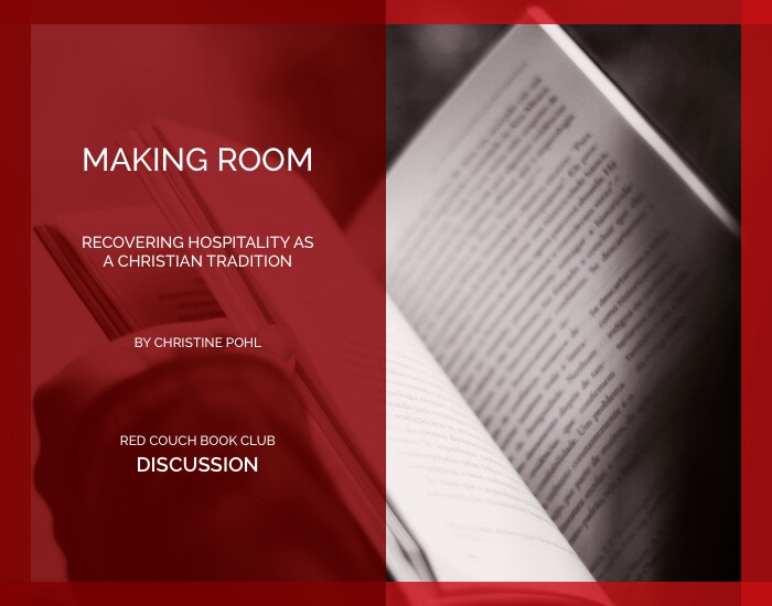 red couch -making room- discussion