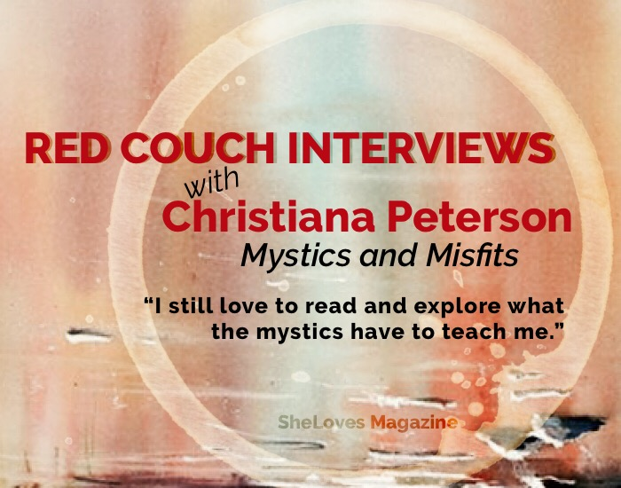 sheloves mag red couch interviews christiana peterson -mystics and misfits