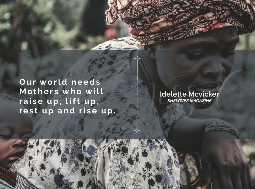 idelette mcvicker -our world needs mothers-3