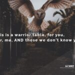 At the Warrior Table